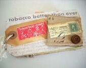 Mini Tag Scrapbook Vintage Album
