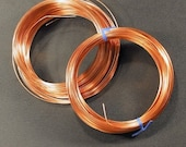 Jewelry Artist Pack - Square and 1\/2 Round Copper Wire and Findings - Free Shipping US and Canada