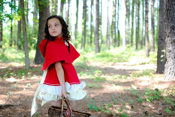 Custom Listing for clarkmeliss for 2012 - Red Riding Hood by Little Shenanigans, Storybook Collection -  3t
