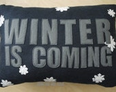 Winter is Coming Game of Thrones Felt Pillow
