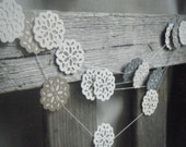 The Versailles-  Doily Lace Paper Garland
