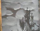 Tattered . The haunted construction co. Hauntingly beautiful paintings.