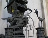 A nightmare before christmas, jacks haunted house. custom order only.
