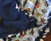 Knotted ribbon Rag disney CARS blankie