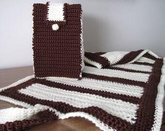 Change My Baby Set - Cream n Chocolate Brown