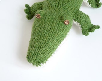 Knit Alligator Pattern