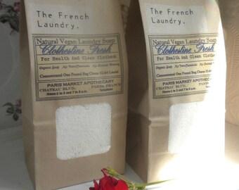 Bulk Vegan Laundry Soap...... 2 lb. bag!  Vegan/Organic Natural Laundry Soap Powder Super Concentrate
