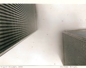 Handmade Photo Note Card - World Trade Center, Twin Towers, Snow Storm, September 11, 9 11,
