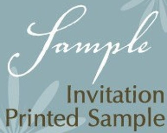 Everlasting Invites Sample Invitation