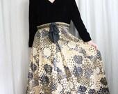 1960s Vintage HONEYCOMB Little Black Dress