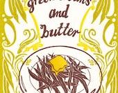 Green Beans and Butter - Letterpress Card