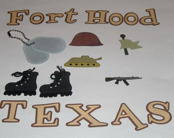 Fort Hood Theme - 20 pieces to a set