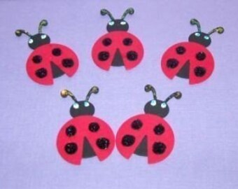 Ladybugs 5 to a set