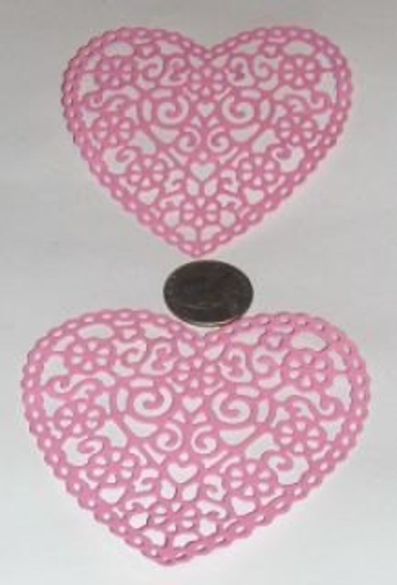 Heart Doily- 2 to a pack