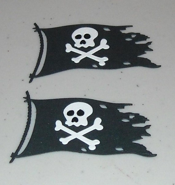 Pirate Flags - 2 to a pack