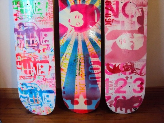 Custom original art deck