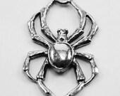 2 x Spider Australian Pewter Charm AF232