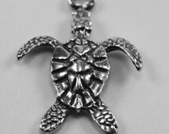 2 x Small Flipper Turtle - 1 Bail Australian Pewter AF175