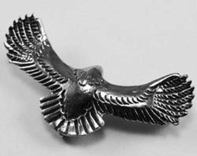 Bald Eagle  wings open 3 rear bails Australian Pewter B17