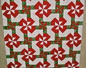 """Christmas """"Gift-Wrapped"""" Quilt Top"""
