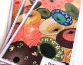 Japanese Parasols Fabric Card