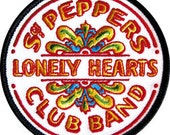 Sgt Peppers Lonely Hearts Club Band Patch