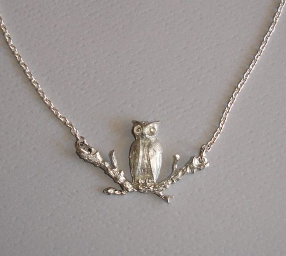 Handmade Owl Necklace - Wise Owl