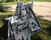 Plaid 9 Patch Country Quilt