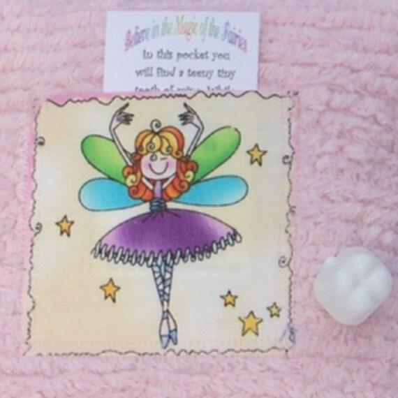 Girl Tooth Fairy Pillow - Ragina the Tooth Fairy Ballerina