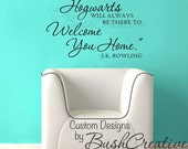"""Harry Potter Quote """"by page or by big screen""""  Wall Decal 113- 20x30"""""""