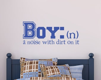 Little Boy Wall Decal Noise Definition 000