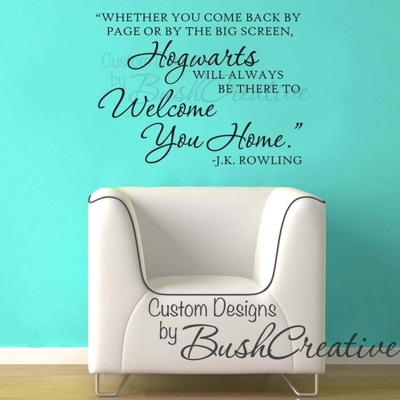 Removable Wall Decals Harry Potter Color The Walls Of Your House - Wall decals harry potter