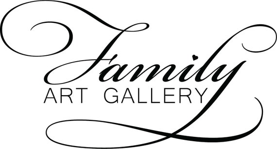 Wall Decal  Family Art Gallery- small 123-18