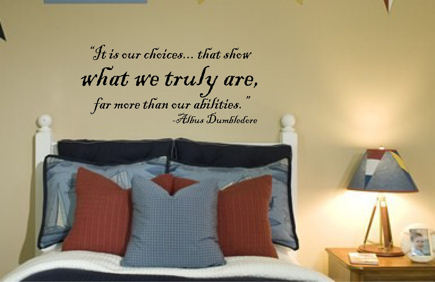 Harry potter wall decal vinyl wall quote vinyl decal zoom amipublicfo Image collections