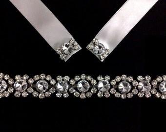 Art Deco Bridal Headband, Gatsby Wedding Hair Jewelry, Crystal Wedding Tiara, Silver Wedding Headband, Bridal Halo, Gold Headband, MIRAN