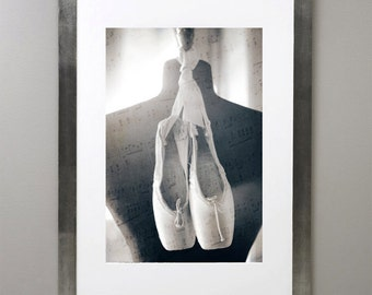 When you dance, angels will run and hide their wings, Fine art photograph, print 8.5x11, archival paper