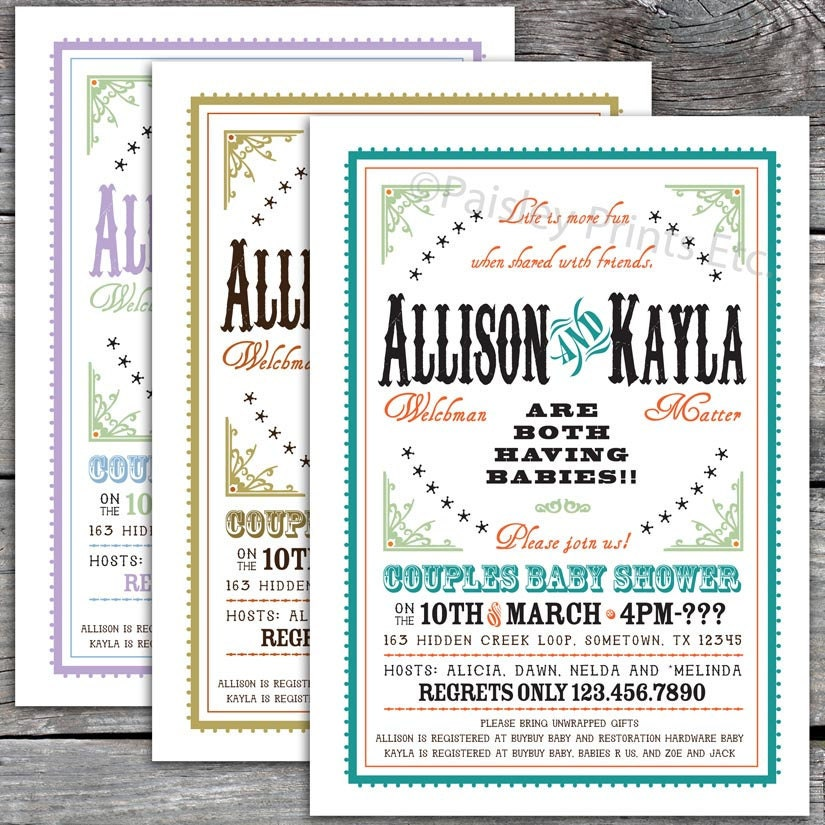 Diaper Party Invites as good invitations design