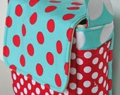 Love Your Lunch Box Aqua and Red