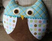 Max the Owl Pillow Plush Sewing Pattern PDF Cute, Simple, Fun