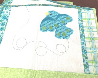 Quilted Soaring Bird Placemats