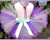 READY TO SHIP - Size 1yr  Morning Glory Tutu  beautiful for Photo Shoots, Birthdays and Gifts