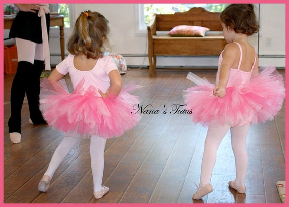 Dance and Ballet Tutus in your choice of colors   Sizes 4yrs thru 6yrs