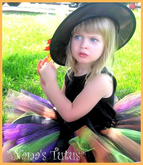 Witchie Pooh, Halloween Tutu, Costume, Theme Party,Halloween Party in Size up to 3yrs