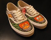 Custom Vans Era Shoe Design, Example Number 1