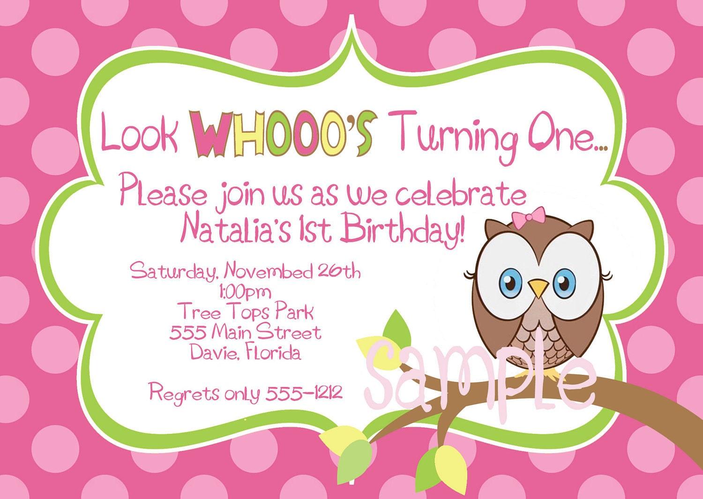 Free Owl Invitations is best invitations example