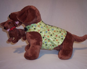 PET HARNESS WEAR Paws and Bones Multi-Color Printed Shirt