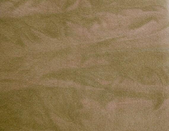 Deep Copper Brown Marbleized Wool