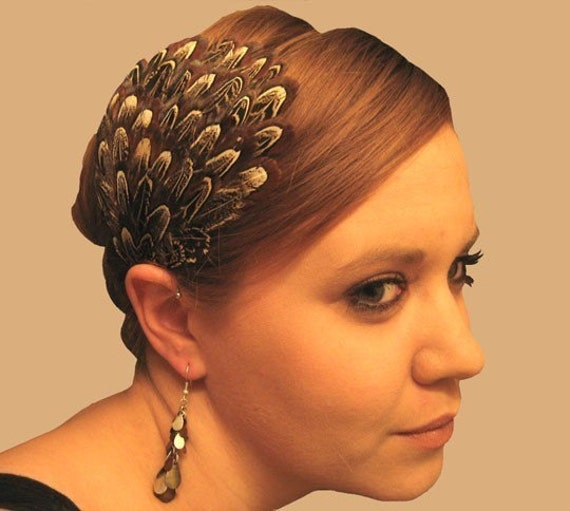 Fancy Pheasant Headband