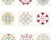 CIJ SALE - Quilt Blocks Machine Embroidery Designs