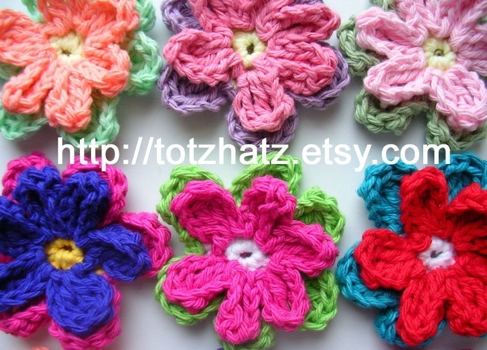 One Layer Flower Crochet Pattern Traitoro For